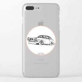 Crazy Car Art 0190 Clear iPhone Case