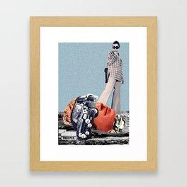 Funny. Framed Art Print