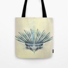The Feathered Tribe Abstract / II Tote Bag