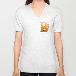 B is for BB-8 Unisex V-Neck