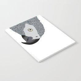 African Grey Parrot Notebook