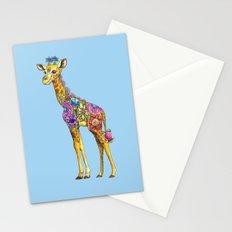 Geraldine the Geniunely Nice Giraffe Blue Stationery Cards
