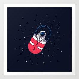 Space Capsule Art Print