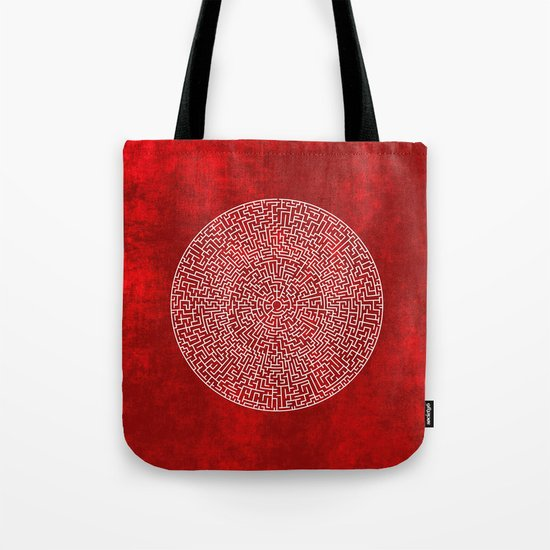 THE RED LABYRINTH Tote Bag