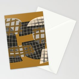 Grids 2 Stationery Cards