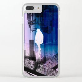 The Time Traveler Clear iPhone Case