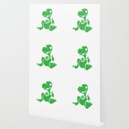 I Have a Drinking Problem Dinosaurs Dino Alcohol Beer Design Wallpaper