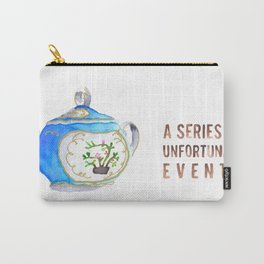 Sugar Bowl Water Color Carry-All Pouch