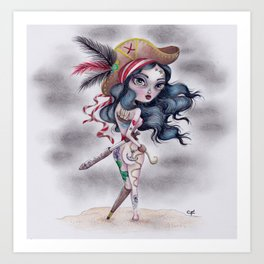Pirate's Booty Art Print