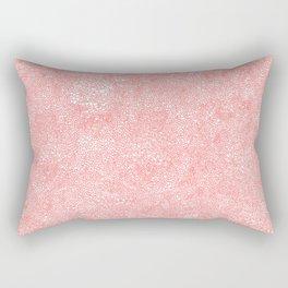 blizard of hearts Rectangular Pillow