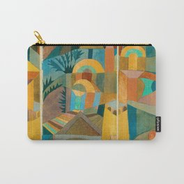 """Paul Klee """"Temple Gardens 1920"""" Carry-All Pouch"""