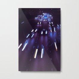 (purp)xSTREETZ(2) Metal Print