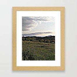 Amy's Backyard in Smello-Vision Framed Art Print