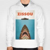 zissou Hoodies featuring Zissou by Wharton