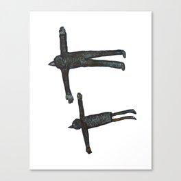Flight Pair Canvas Print