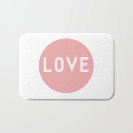The Love Bath Mat