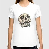 skulls T-shirts featuring Skulls by Lauren Florence