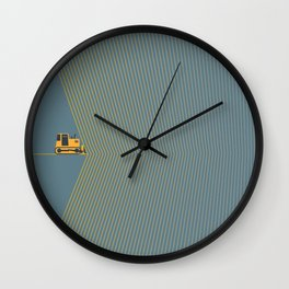 Marvin Heemeyer Wall Clock
