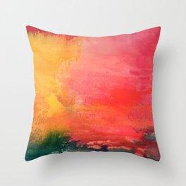 Flamingo Bay Throw Pillow