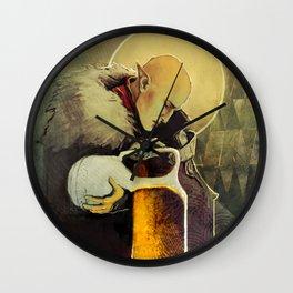 Aquarius Solas Fen'Harel card Wall Clock