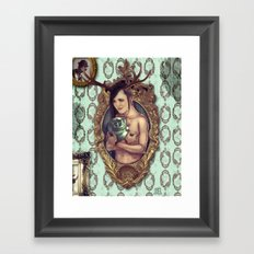 Cuddle Framed Art Print
