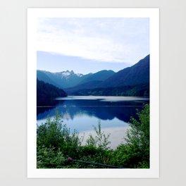 Beautiful Mountain side Art Print