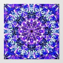 """Underwater Moonlight Mandala"" Canvas Print"
