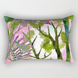 Ancient forest Rectangular Pillow