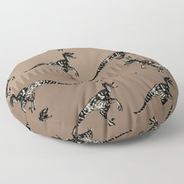 ChocoPaleo: Velociraptor Floor Pillow