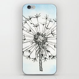 Dandelion Waiting for a Breeze iPhone Skin