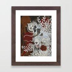 Pigeon voyageur Framed Art Print