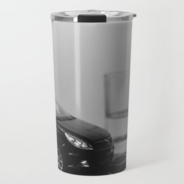little driver and it's tiny ocean, toys landscape, urban toys Travel Mug