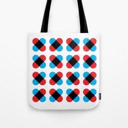 Cross pattern Tote Bag