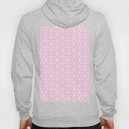 Geometric Hive Mind Pattern - Light Pink #120 Hoody