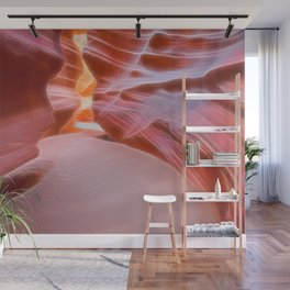 Geology Alive - Following Life Force Lines of Antelope Canyon Wall Mural
