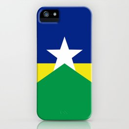 Flag of Rondonia iPhone Case