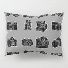 Cameras and Film Pillow Sham
