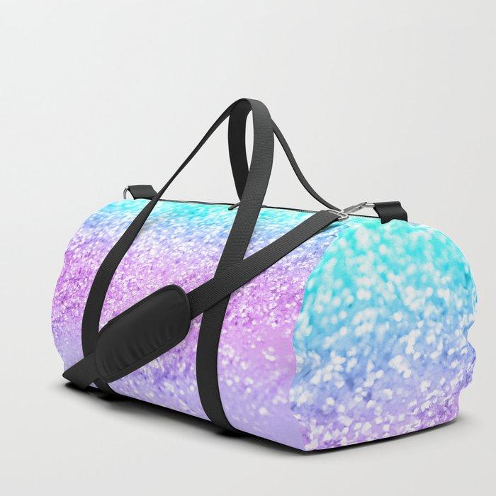 Unicorn Girls Glitter #9 #shiny #decor #art #society6 Duffle Bag