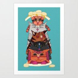 PANCATS Art Print