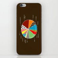 pie iPhone & iPod Skins featuring Pie Chart by Graham Dobson