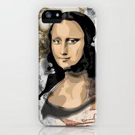 Monna Lisa iPhone Case