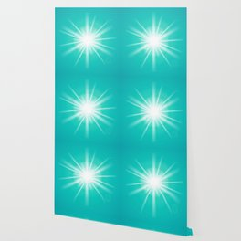 turquoise and light effect Wallpaper