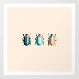 June Bugs Art Print