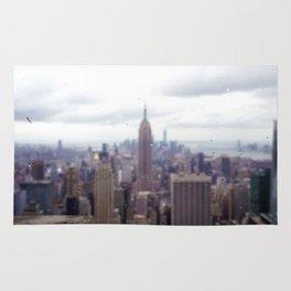 Bugs and Raindrops, Manhattan Skyline Rug