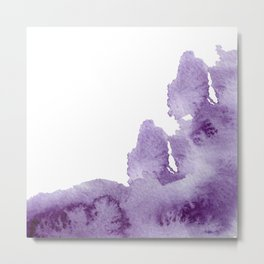 Summer in the provence - lavender fields Metal Print