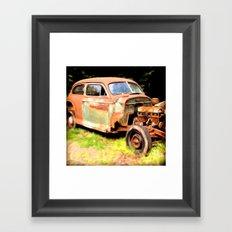 Old Timer Framed Art Print