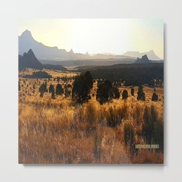 Sawtooth Mountains - New Mexico Metal Print