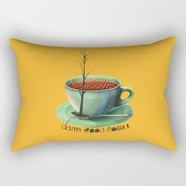 Good Coffee Rectangular Pillow