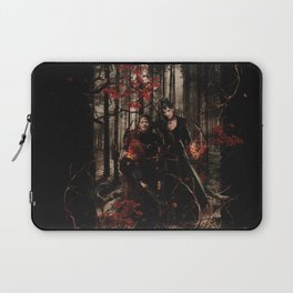 Outlaw Queen - Prince of Thieves and The Queen Laptop Sleeve