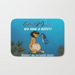 Weirdmaids - Remma wants hug respect my personal space Bath Mat